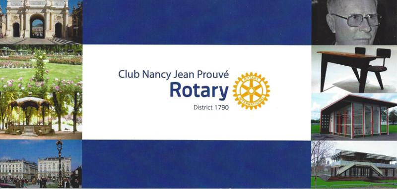 Création du Club Rotary Nancy Prouvé