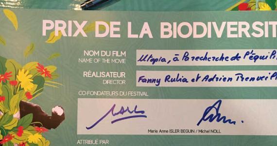 Remise du Prix de la Biodiversité Cinematerre