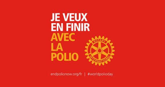 En finir avec la polio. Une volonté du Rotary
