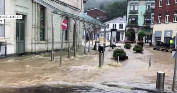 Inondation en Allemagne et Belgique : Campagne de collecte Gouverneur bien engagée