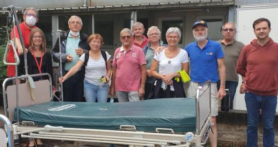 Action Interclubs des Vosges : Aide aux hôpitaux d'Arménie