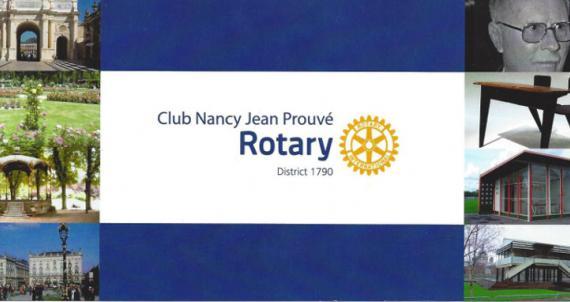 Rotary Club Nancy Prouvé: un nouveau club nancéen