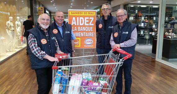 La Banque alimentaire de Nancy est parvenue à drainer 2 400 tonnes de denrées