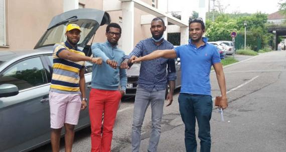 RC-Nancy Héré : Un coup de pouce pour les étudiants guinéens de Nancy