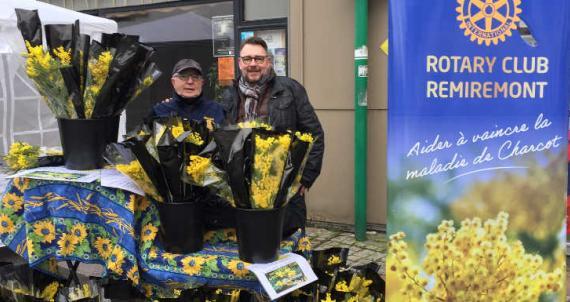 RC Remiremont - Vente de bouquets de mimosa