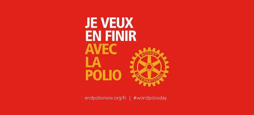 A propos de Polio plus : « Ne pas baisser les bras »