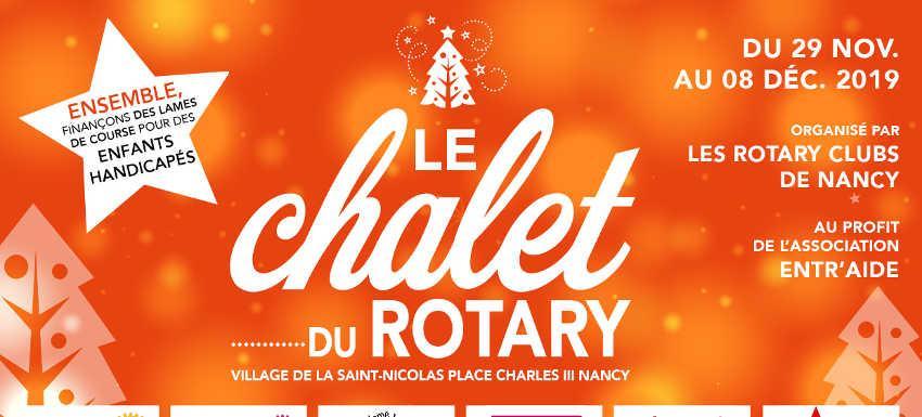 Chalet de Noel du Rotary à NANCY