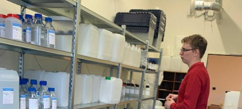 RC Nancy Héré : 300 litres de solution hydro alcoolique en livraison express