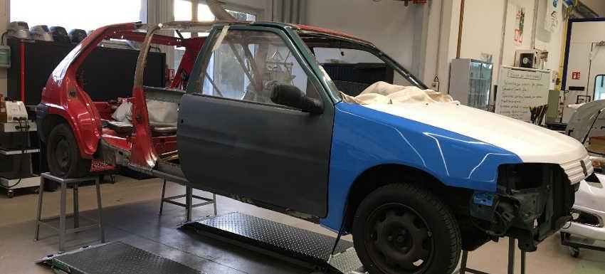 RC Forbach - Transformation d'une 106 en limousine