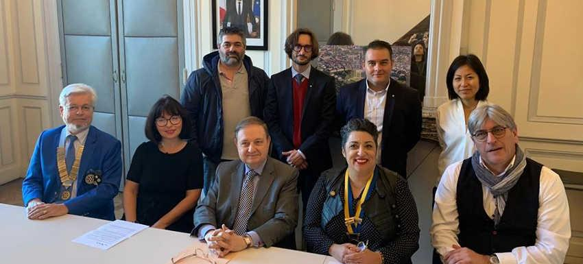 RC Nancy Héré - Signature de la convention 'coeur artisan' avec la mairie de Nancy
