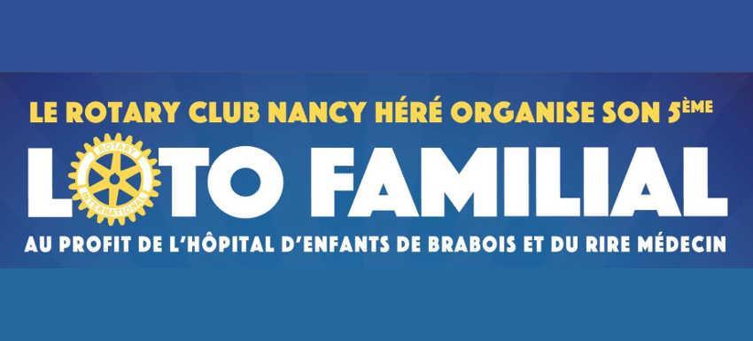 RC Nancy Héré : Loto au profit du « rire médecin » et de l'hôpital d'enfant