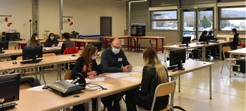 RC Pont-à-Mousson : Les lycéen en galop d'essai à l'embauche