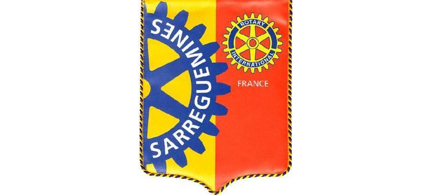 Fanion du Rotary Club de Sarreguemines