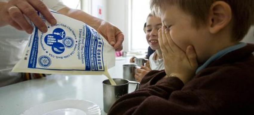 Action Humanitaire au Rotary - Fourniture de nourriture
