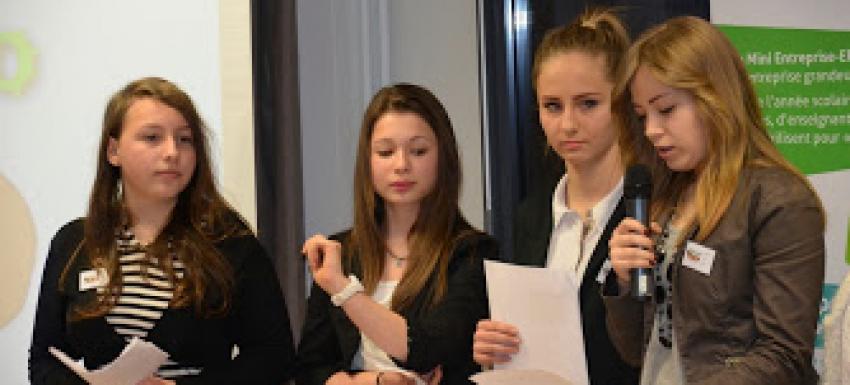Présentation de la Mini ntreprise au Club Service Rotary de Chaumont