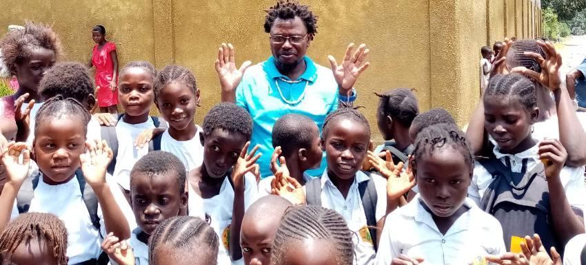 RC Forbach : Soutient à une école en République du Congo