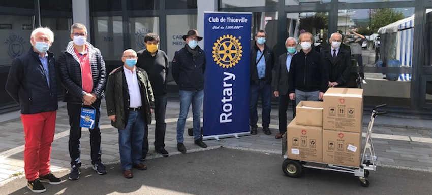 Clubs Rotary de Thionville unis pour solliciter une subvention mondiale