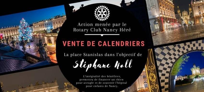 RC Nancy Héré : Les calendriers du cœur