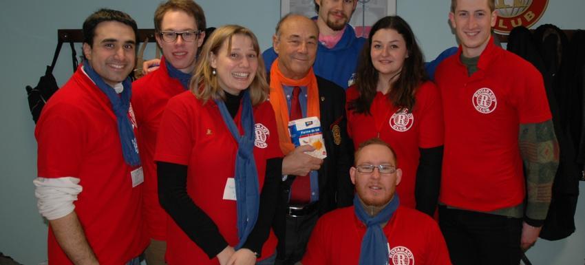 Destiné aux jeunes de 18 à 30 ans, le Rotaract est un club service