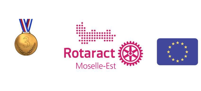 Best European Service Project : Le Rotaract de Moselle-Est au troisième rang