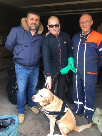 RC Nancy Héré : recyclage des canettes pour chien guide