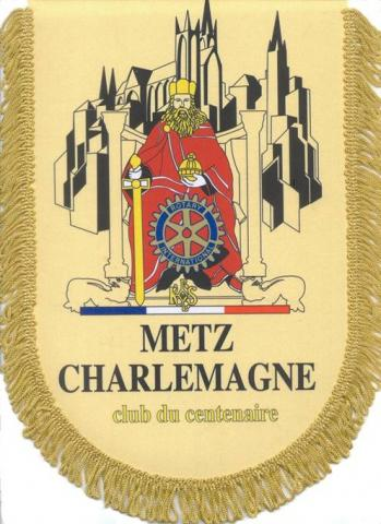 Blason du Club Rotary Metz Charlemegne