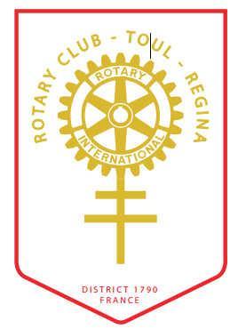 Fanion du club Rotary Toul Regina
