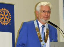 Francis JACOB, Gouverneur du District Rotary 1790