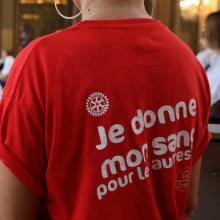 Affluence record au Don du sang festif et gourmet organisé par l'Interclubs de Nancy.